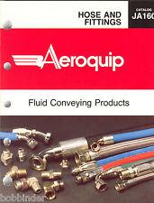 Aeroquip Hose & Fitting Catalog Ja160 March 1991