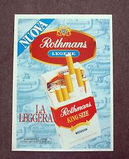 G758 - Advertising Pubblicità - 1981 - ROTHMANS KING SIZE LA SIGARETTA LEGGIERA