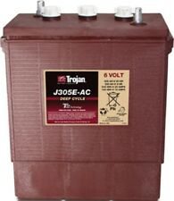 BATTERY FOR JLG ARTICULATING-BOOM E18MJ,E300AJ TROJAN J305E-AC 8 EACH