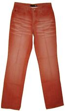 Roberto CAVALLI just jean rouge pantalon femme taille 40 Française made in Italy