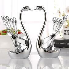 Tableware, Storage, Holder, Fork, Spoon, Cutlery, Stainless, Steel, Swan, Shape