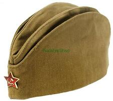 Military Forage Garrison Field Cap Russian Army Pilotka Hat Soldier Soviet USSR