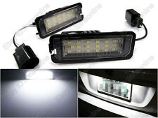 2 Bulbs White LED Number License Plate Light for Porsche Carrera Boxster Cayman