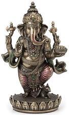 UNIQUE Standing Ganesh Hindu Elephant God of Success Ganesha Statue 7.5 INCH