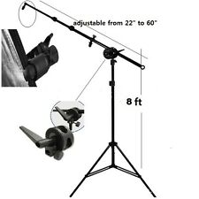 Pro heavy duty 8' stand Reflector Holder Holding Arm mounting bracket Kit