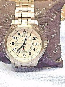 Bulova 968125  men's watch     RETAIL   $ 425.00
