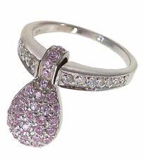 Einhänger Ring mit Zirkonia 925 Silber