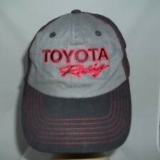Nascar TOYOTA Racing Black/Gray Hat - Adult One Size - Pre-owned