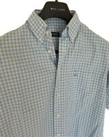 Mens chic LONDON by BURBERRY short sleeve shirt size large. RRP £165.