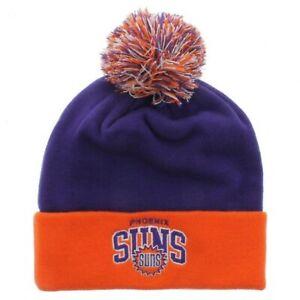 NBA Mitchell & Ness Phoenix Suns Knit Pom Beanie