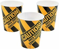 Construction Zone Paper Cups ( 9 oz.) Party Supplies