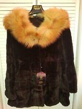 SAGA MINK black fur size s
