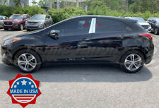 fit:2012-2017 Hyundai Elantra GT Hatchback 4Pc Pillar Post Trim Door Cover