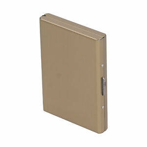 Credit Card Holder Protector Stainless Steel Credit Card Wallet Business Card US