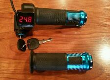 36 VOLT DIGITECH THROTTLE WITH HANDLE GRIP FOR SCOOTER OR E BIKE EBIKE