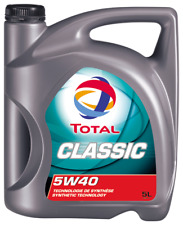 Total CLASSIC 5W40 Motor Engine Oil 5 Litre TOT156721
