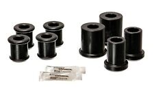 05-12 C6 Corvette BASE Front Upper Lower Control Arm Bushings Polyurethane BLACK