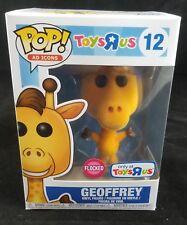 Funko Pop Ad Icons #12 Toys R Us Flocked Geoffrey The Giraffe Free Ship