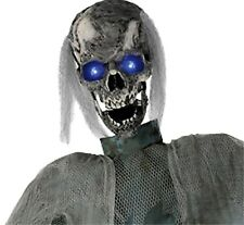 Life Size Creepy ANIMATED TWITCHING GHOUL ZOMBIE Haunted House Prop Decoration