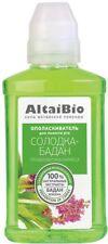"Mouthwash Altai Bio ""Licorice-Badan"" 200 ml caries prevention"
