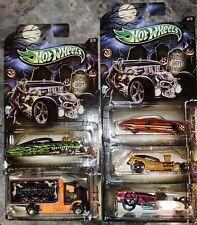 HOT WHEELS 2013 HALLOWEEN SET OF 5 CARS MOC