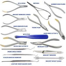 Orthodontic Weingart Young,Ortho Probe,Mathieu,Tweezer,Bracket Guage Ortho Tools