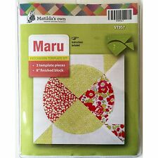Matildas Own Maru Patchwork Template Set