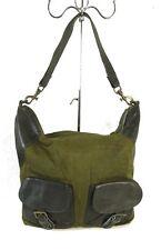 LIEBESKIND BERLIN Beuteltasche Beutel Shopper Tasche Khaki Green Textil (H13)