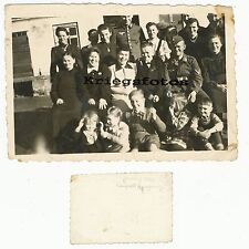 Dans grenzberg soldats uniforme femmes enfants Voir Photo 1942
