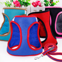 Pet Control Harness for Cat Dog Soft Mesh Walk Collar Safety Puppy Vest & Leash