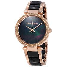 Michael Kors Parker Black Dial Ladies Watch MK6414