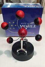 Kinetic Mobile Revolving Ball Smile Face Perpetual Motion Desk Top Toy New
