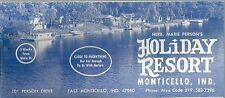 Brochure for Holiday Resort Monticello Indiana