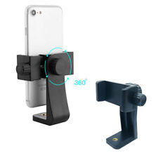 Smartphone Tripod Adapter Phone Holder Mount Adjust Clamp for iPhone Samsung
