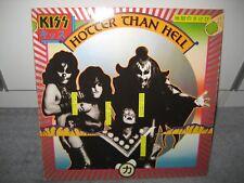 """LP Kiss """"Hotter than Hell"""" (Casablanca Records), Metal/Rock der 70er!"""