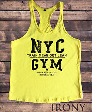 NYC Gym Bodybuilding Motivation Vest Best Workout Clothing Training Top New York