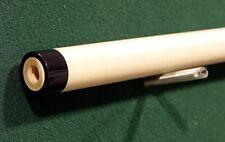 New  3/8 x 10  Adam Japan Pool Cue shaft Billiards, Custom  Straight  Black Ring