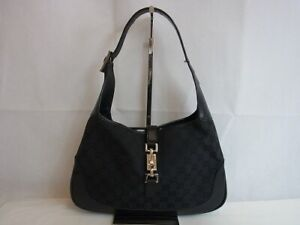 Auth VP27 GUCCI GG canvas one shoulder bag Jackie junk from Japan