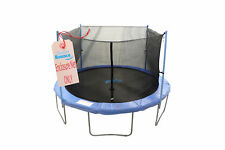 Trampoline Replacement Enclosure Net, Fits For 14 FT. Round Frames, With Adju...