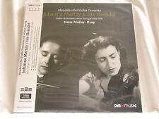 MENDELSSOHN Violin Concerto JOHANNA MARTZY Ida Haendel 180 gram vinyl SEALED LP