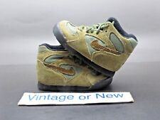 VTG OG 90's Nike Hiking Trail Light Brown Olive Black Boots Toddler sz 4