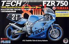 Fujimi Bike-5 1/12 Model Motorbike Kit Tech21 Yamaha FZR750 '85 Taira/K.Roberts