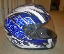SHOEI Raid 2 Destiny Full Face Motorcycle Bike Crash Helmet Lock Visor Glossy II