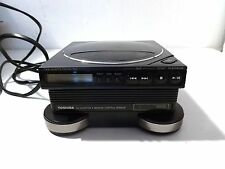Lettore cd Toshiba TAC-210 cd player docking station walkman pll discman vintage