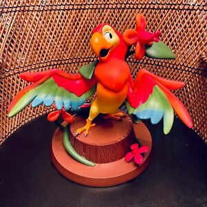 Disney Parks Enchanted Tiki Room Jose Bird Medium Big Fig Statue Figurine New