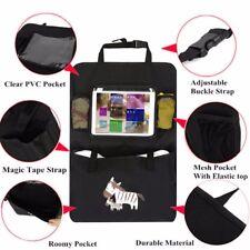 Iteasier Car Storage Organizer, Backseat Headrest iPad Tablets Stand Holder with