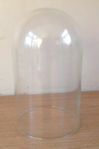 Glass clock dome 118mm x 200mm Suitable for Anniversary 400 Day Torsion Clock