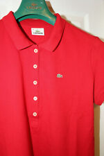 Womens LACOSTE polo t shirt. Size 46 / L to XL
