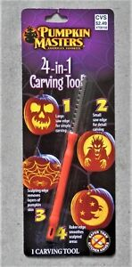 Pumpkin Masters 4-in-1 Carving Tool - Saver Than Kitchen Knives - American Favor