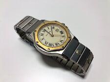 Vintage Watch Reloj PIERRE CARDIN - Quartz Steel Date - Beige Dial - NO FUNCIONA